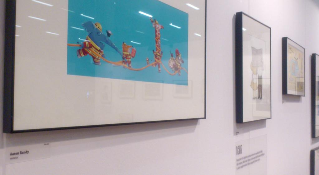 Aaron Randy's artwork in Settimana del libro e della cultura per ragazzi, Bologna, Italy
